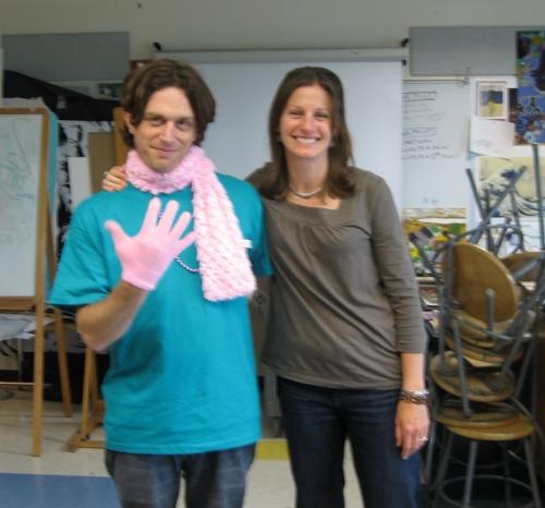 Joseph Fontina and I as his student teacher, Brockton, MA, Spring 2010