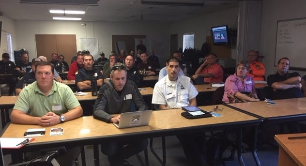 First responders from across the Sacramento region gather in Elk Grove to learn about drones