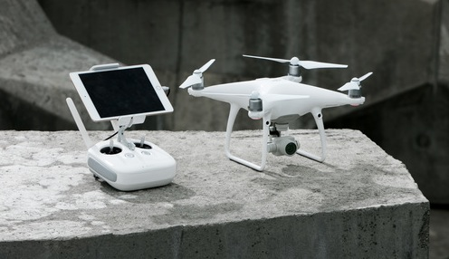 DJI Phantom 4 Advanced on DJI website