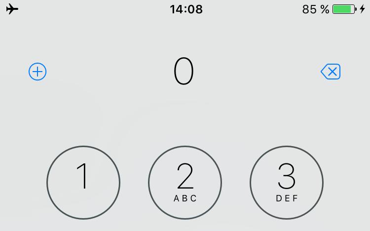 Faultier-iPhone