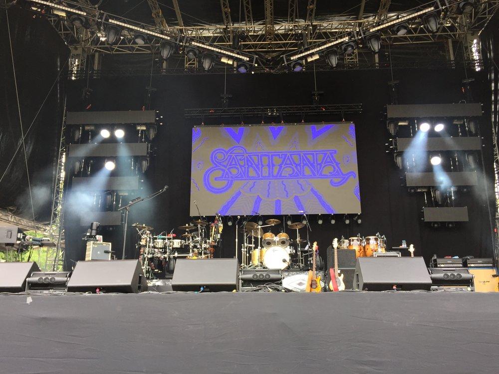 Santana Bühne