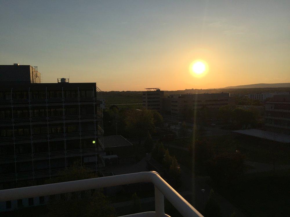 Sonnenuntergang Vorkurs '18