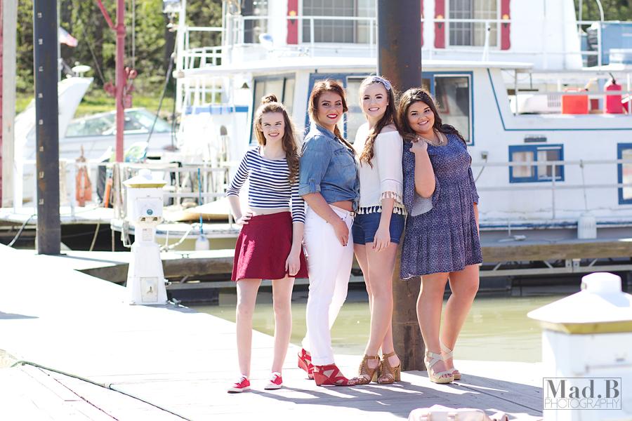 Piper, Brianne, Amber, and Mackenzie [2017 ModSquad]