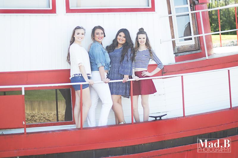 Amber, Brianne, Mackenzie, and Piper [2017 ModSquad]