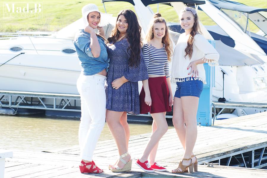 Brianne, Mackenzie, Piper, and Amber [2017 ModSquad]