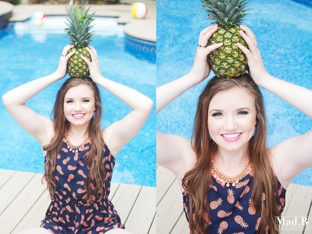 So we all know I am OBSESSED with Pineapples, so when we came up with this outfit and idea, I had serious heart-eyes!