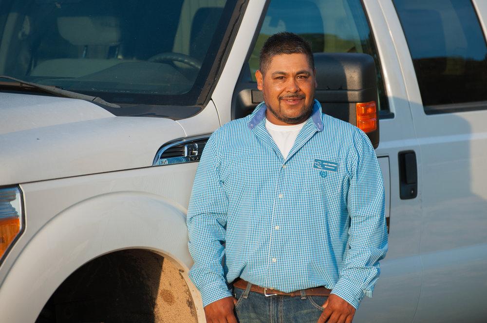Juan Santillan      Maintenance / Herd