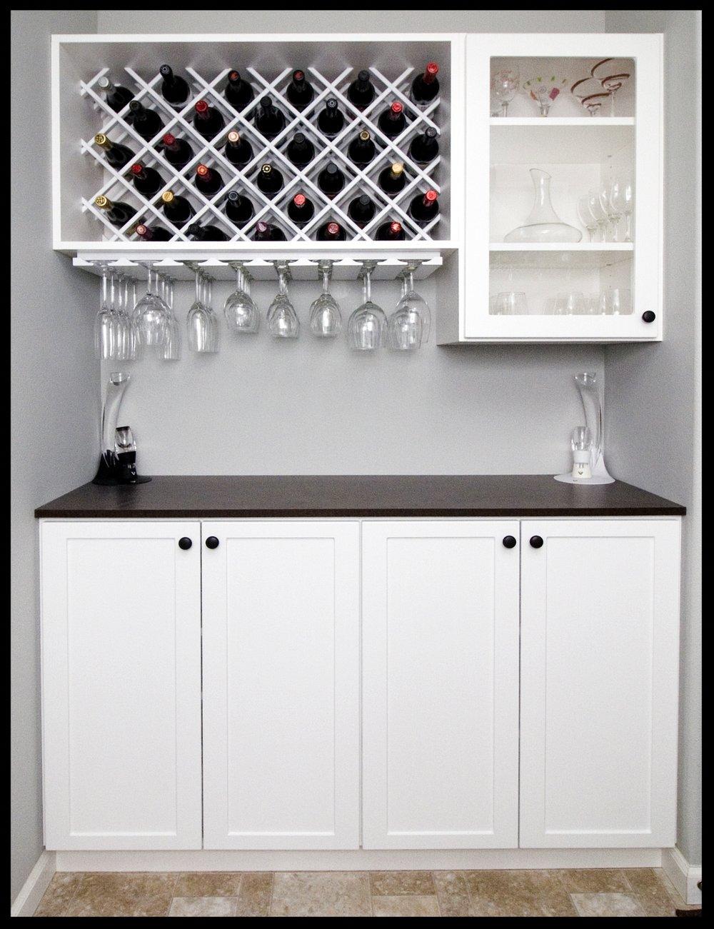 White Wine Rack
