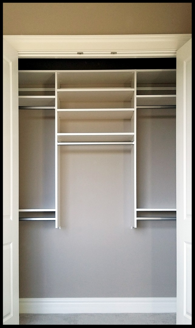 Adjustable Reach-In Closet