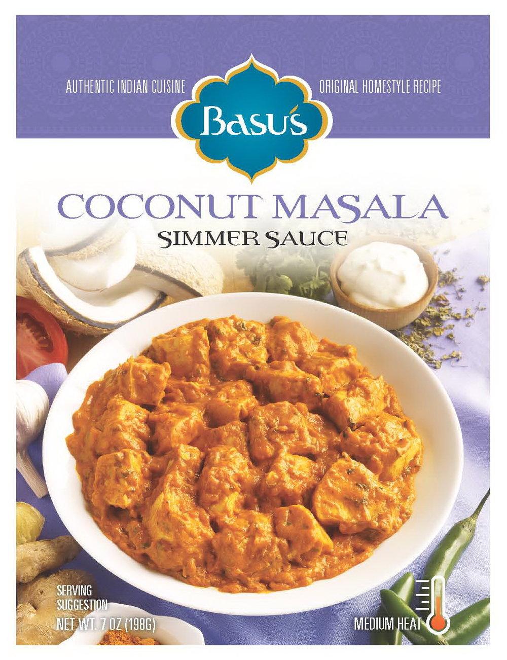 Coconut Masala Simmer Sauce