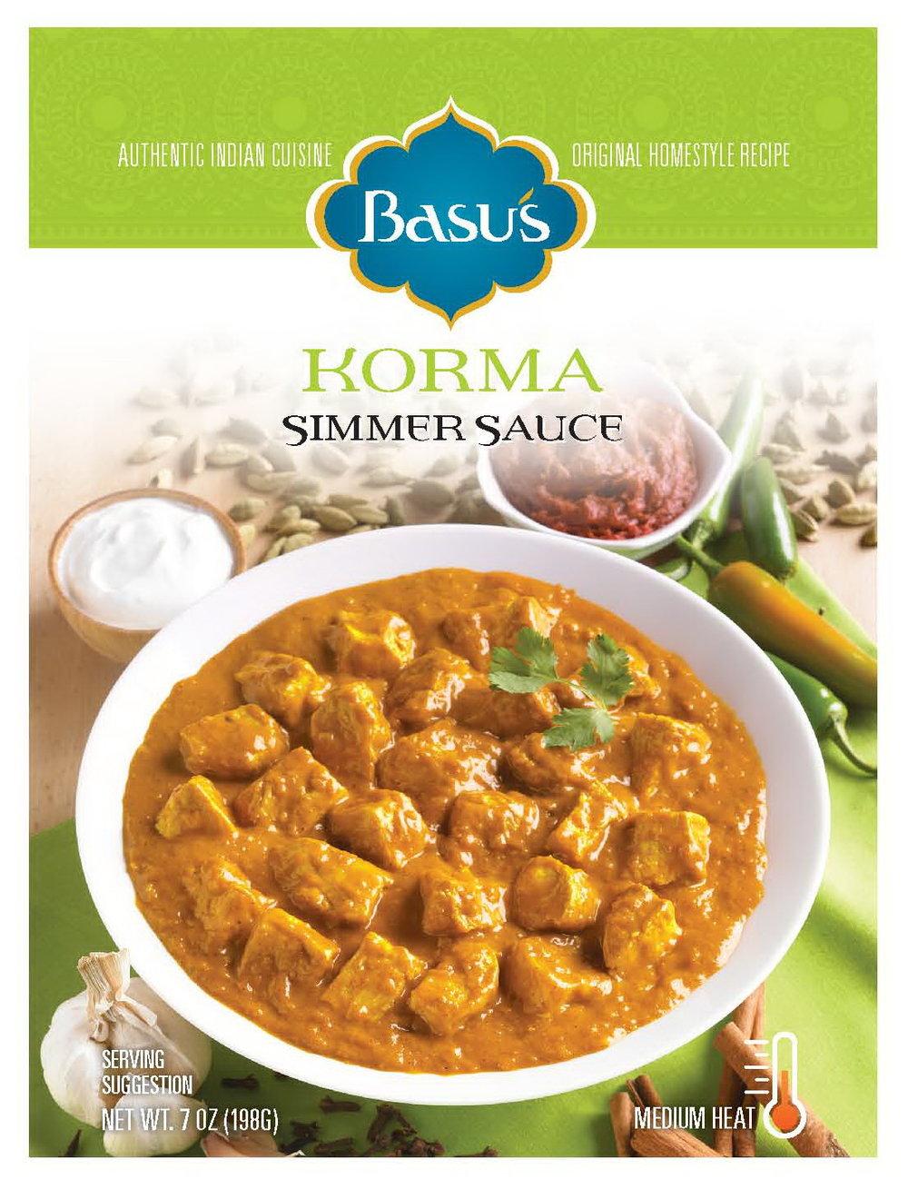 Korma Simmer Sauce