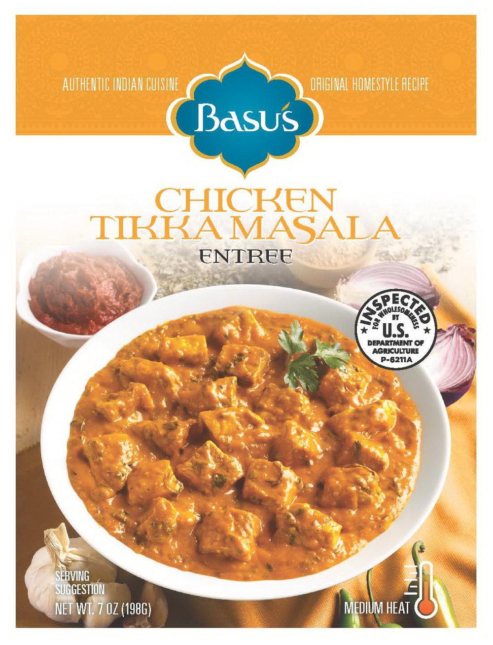 Chicken Tikka Masala Entree