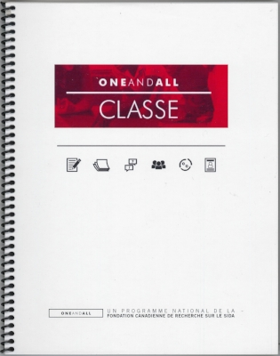 A bound copy and digital copies of all lesson plans and associated handouts, in French.