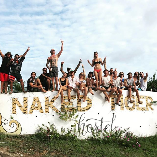 An amazing first weekend back!  Thanks to everyone who came out 🐯🍾🇳🇮 . . . #girlslovetravel #tigershavemorefun #nakedtigerhostel #tigerlife #hostellife #partyhostel #partyinparadise #nakedtigerforever #travelmore #explorenicaragua #travelnicaragua #backpacker #backpacking #aussiesabroad #meettheworld #centralamerica #nicaragua #sanjuandelsur #whatareyourunningfrom #whoswalkingwho #tropical #dirtylove #wereback!