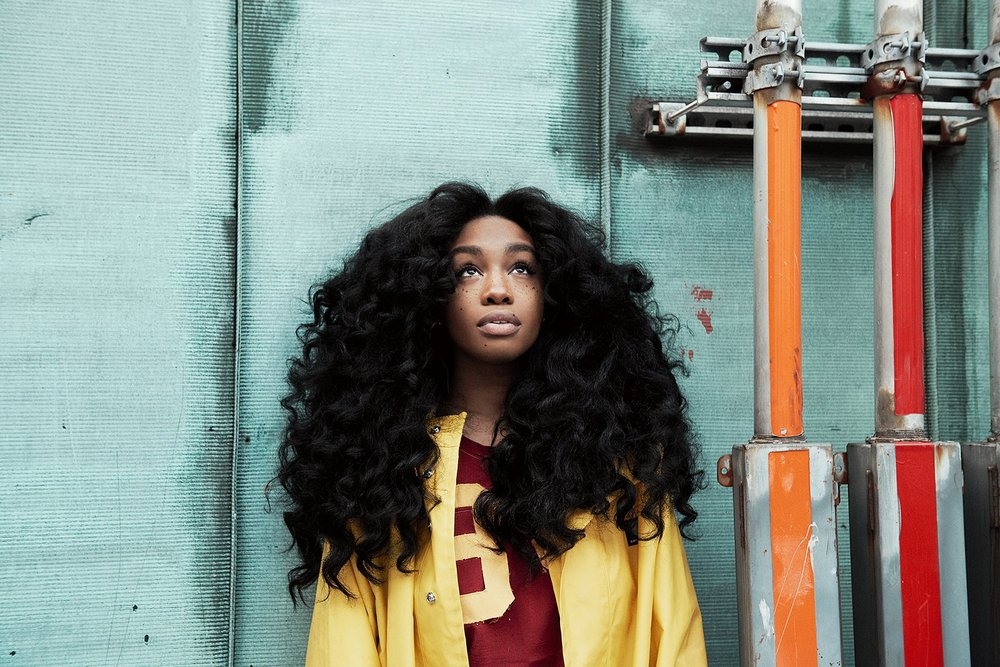 SZA photographed by Alessio Boni for Vogue