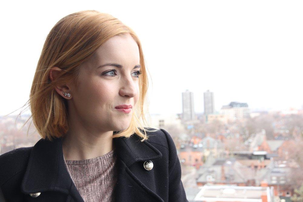 Samantha McAdams, Toronto jewellery designer.