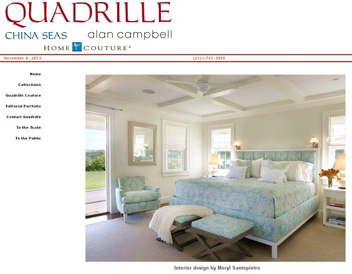 Quadrille Fabrics | Santopietro Interiors