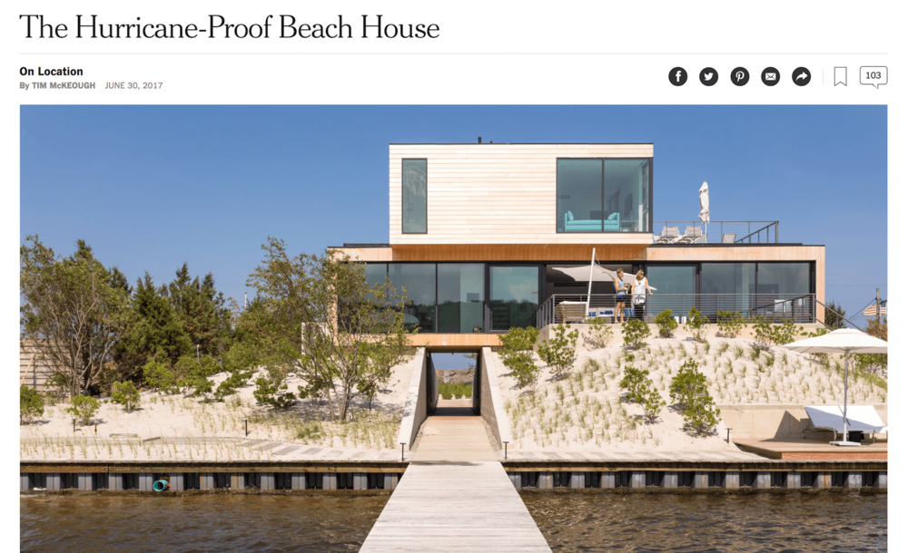 New Jersey Beach House Interior Design | NY Times