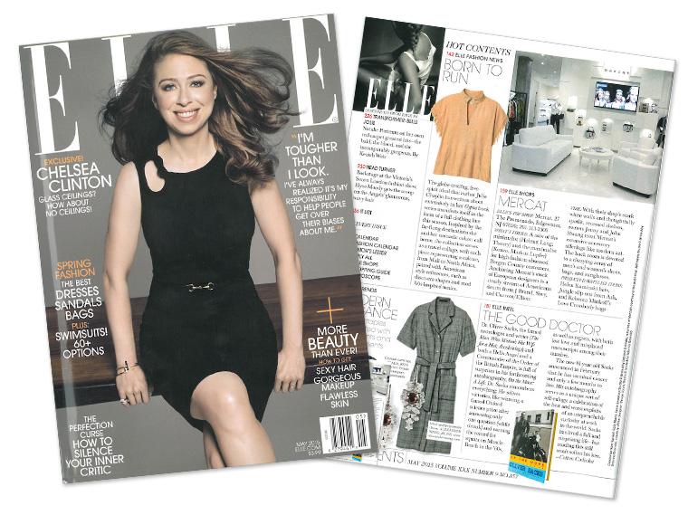 Mercat on Elle Magazine