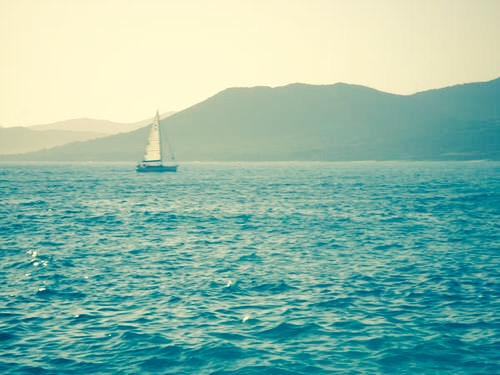 Sailing in Corsica