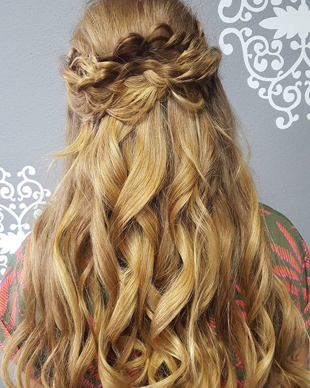 Gypsy braid😍  #homecoming #goddess #gypsyheart #boho #dance