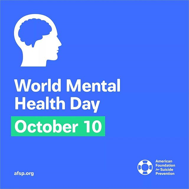 Today is #WorldMentaHealthDay. Let's create a culture that's smart about #MentalHealth so we can #StopSuicide.  #raiseawareness #PROJECTHIFIVE