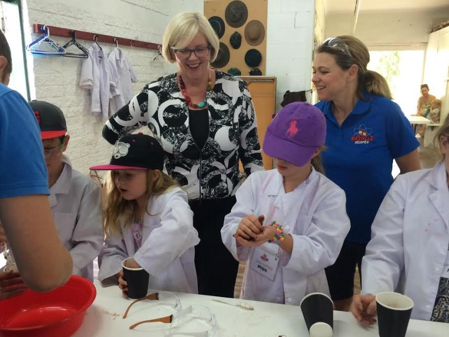 """ I really enjoyed seeing first hand the great work you're doing with STEM"" Karen Andrews MP"