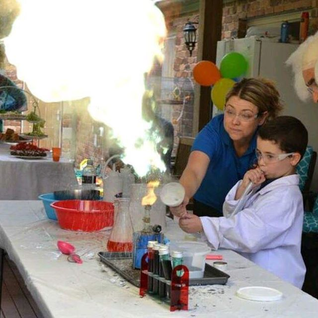 We're doing 3 more awesome parties this weekend! #party #scienceparty #boys #girls #goldcoast #science #redcatscience #ignitingaloveofscience