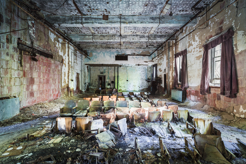 Riverside Hospital Auditorium, North Brother Island