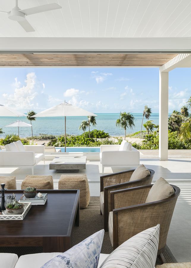 Paradise Found - Domino Creative brings world-class sophistication to vacation rentals and private residences across the Turks and Caicos islands.