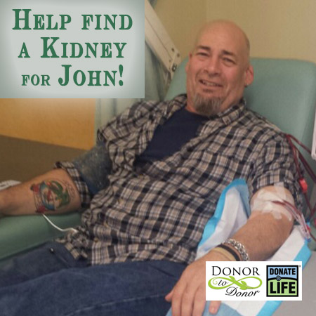 John A needs a Kidney