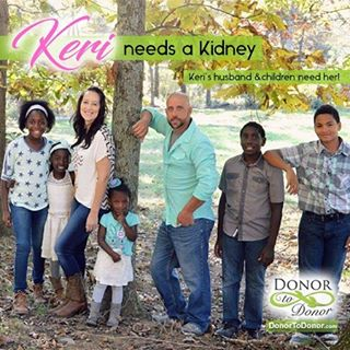 Meet our newest sponsored patient Keri!  Keri needs a #KidneyDonation and her family really needs her.  She's a mom to 5 beautiful children and is on #dialysis 4 times a day!  PLEASE, let's help Keri and her #family out, become a #LivingDonor & contact us today!  #DonorToDonor Find A Kidney Donor For Keri Please #share, this family really needs a #miracle. #altruistic #payingitforward #donatelife #altruism #dialysis #kidneydonor #kidneytransplant #kidneyfailure #adopt #adoptionrocks #familyovereverything #healthylife #organdonor #organdonation #kidneytransplant #helpingothers #pleaseshoutout #livingdonor