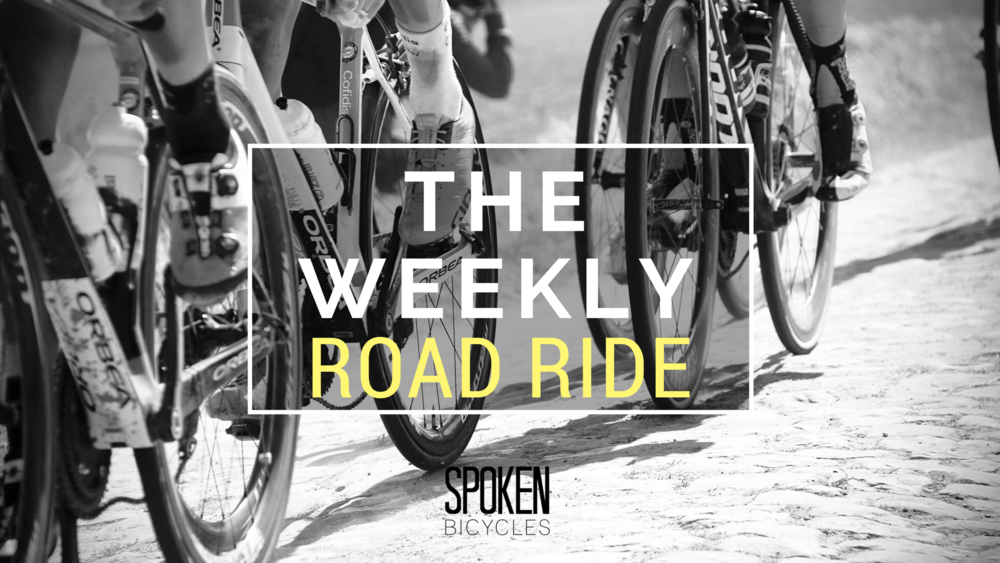 The Weekly Road Ride is back!  Rides leave every Thursday at 6pm from the shop.  Helmets required.  Lights encouraged.  We have 2 groups:  the road group and the bike path group.  We all leave together, and then split at the river.  All levels are welcome!  If you are attending the road ride, please take a look at the route - we try to stay together, but treat it as a self supported ride.  ROAD ROUTE:   https://ridewithgps.com/routes/27511398   BIKE PATH ROUTE:   https://ridewithgps.com/routes/20613036