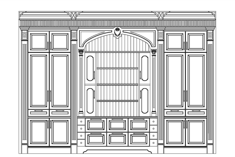 Library Elevation