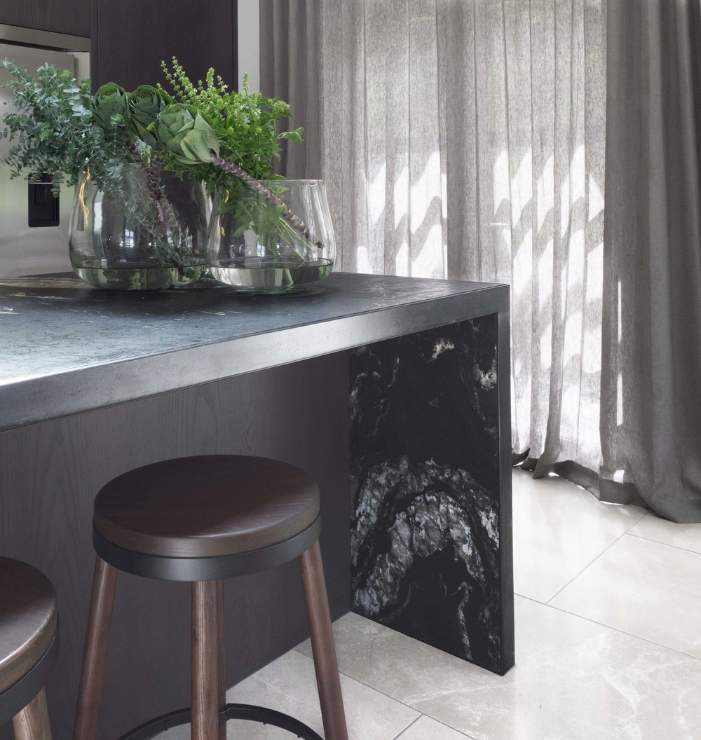 Sonya Cotter Design Kitchen Island Detail