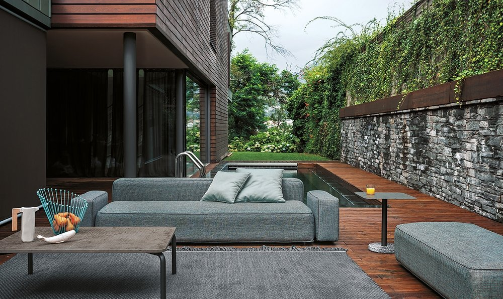 RODA Dandy Sofa & Outdoor Rug