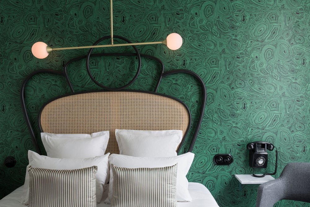 Fornasetti Malachite Wallpaper