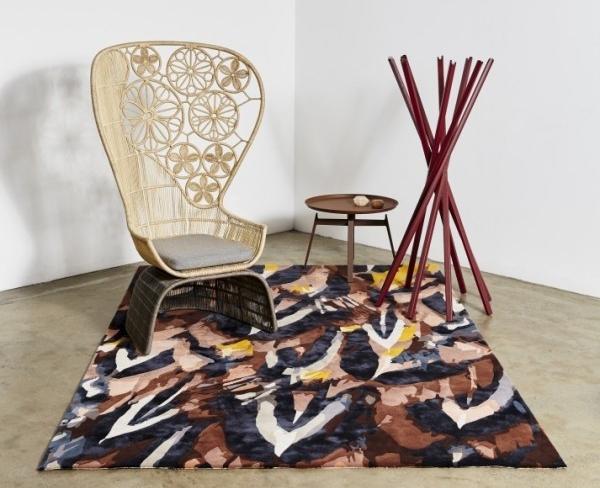 Designer Rugs x Emma Elizabeth, Plumage rug.