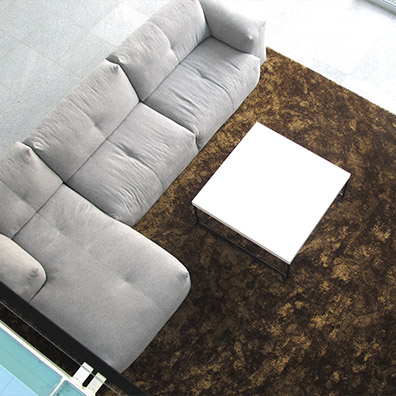 Artisan, Shadow Rug in Deep Gold is an example of classic contemporary.