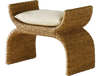 Woven X Bench by Milling Road