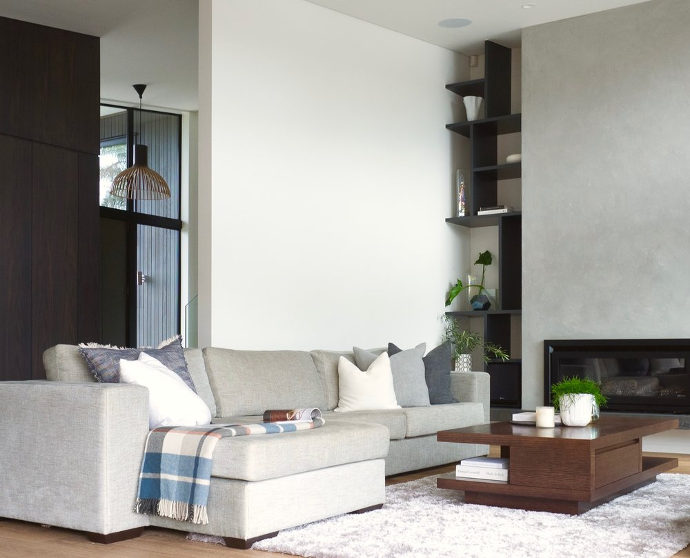 Sonya Cotter Interior Designer Auckland Home Renovation - Wall dispaly