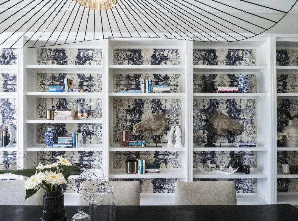 Sonya Cotter Interior design - dining room display decor