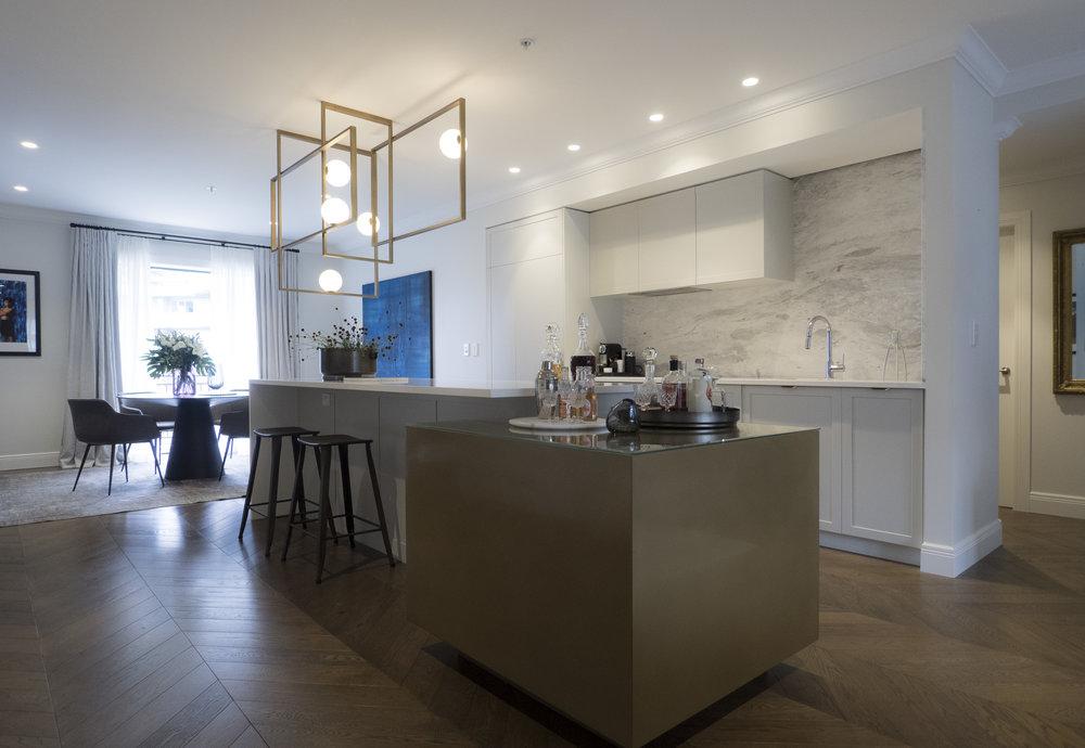 Sonya Cotter Interior Design - Residential Apartment Kitchen Design