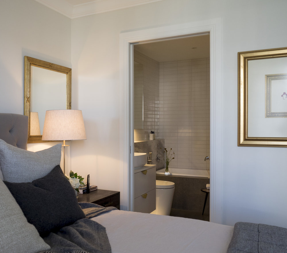 Sonya Cotter Interior Design - Residential Apartment Bathroom Design