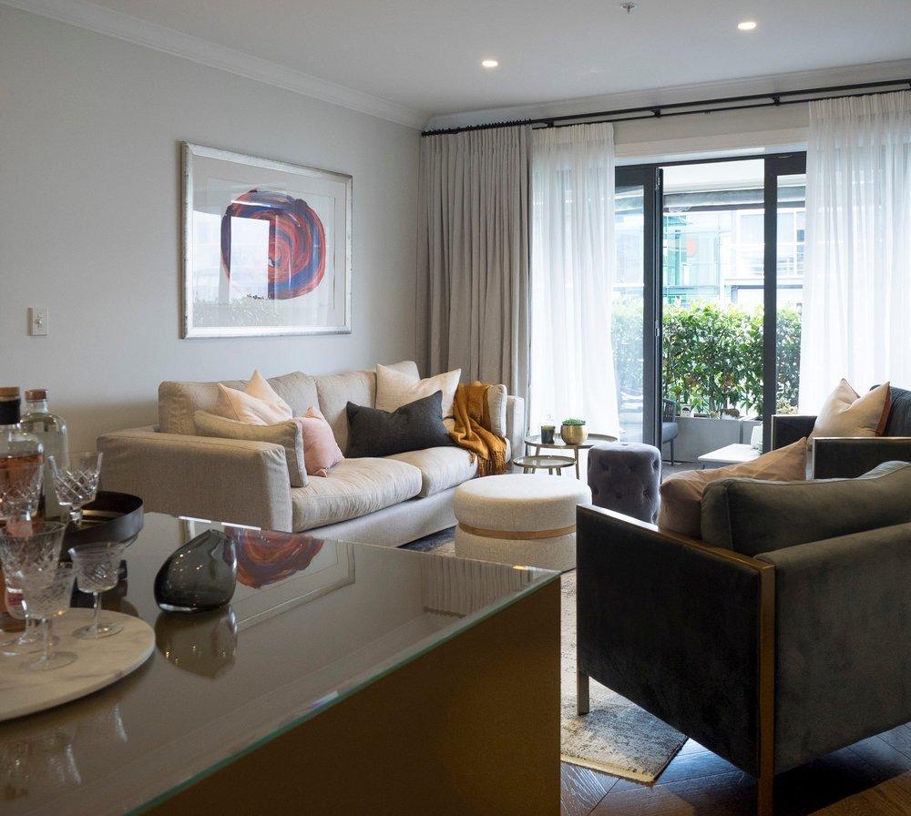 Sonya Cotter Interior Design - Residential Apartment Frunishing Selection
