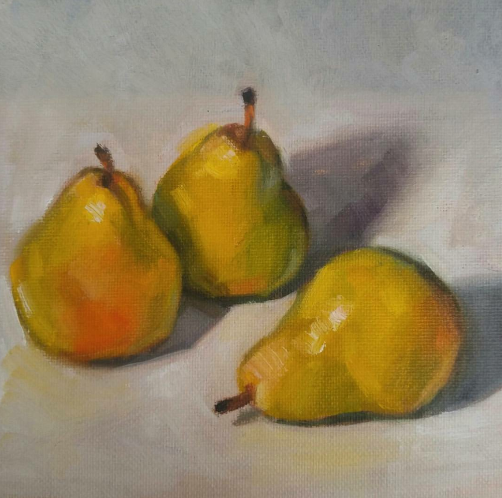 Pear Down, 6x6