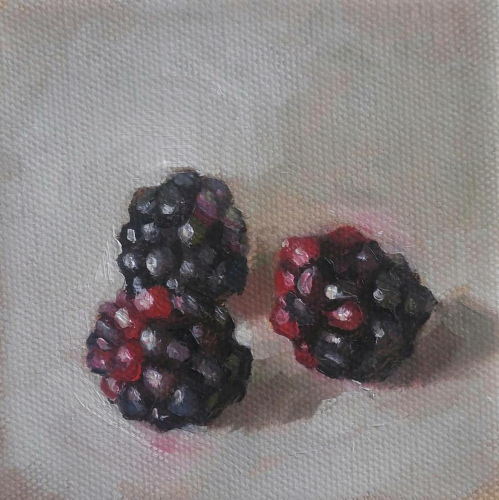 Blackberries, 4x4