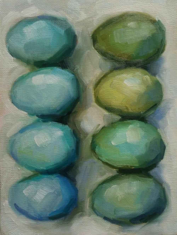 Egg Study, 6x8