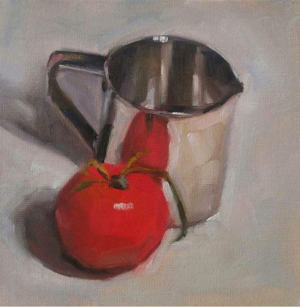 Tomato and Tin, 6x6