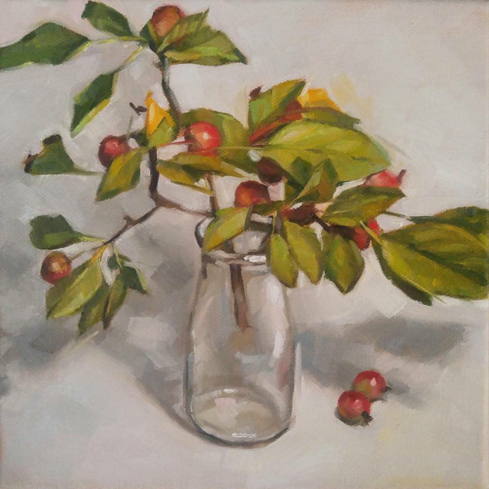 Twig and Berries, 8x8